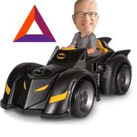bat eich driving BAT mobile