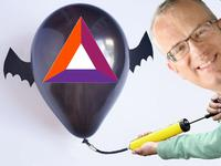 bat eich pumping bat balloon