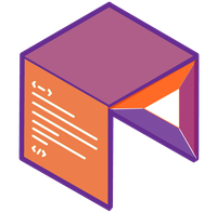 bat square logo