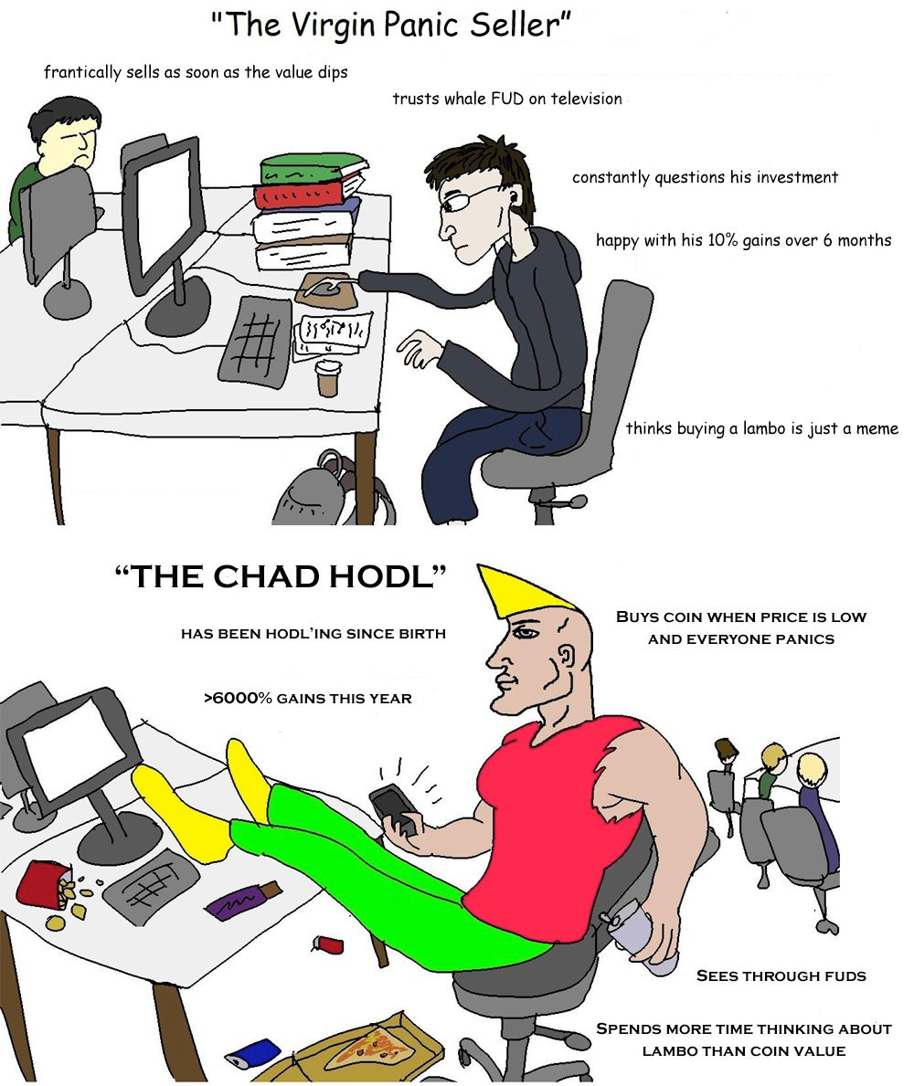 chad holder virgin panic seller