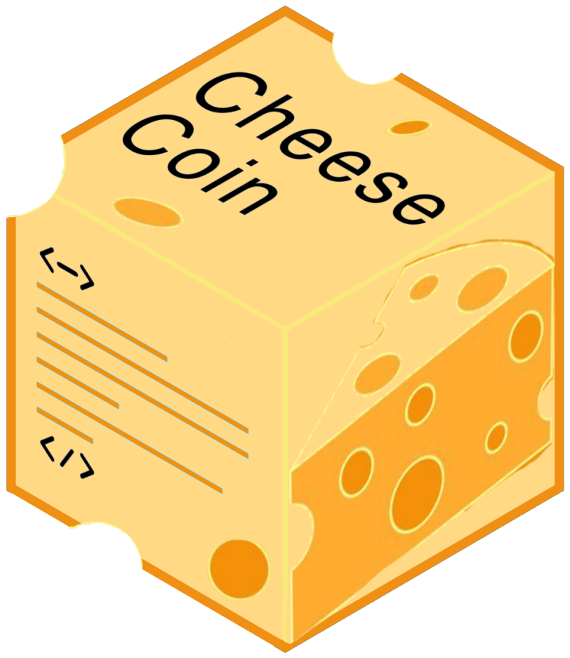 cheese coin cube
