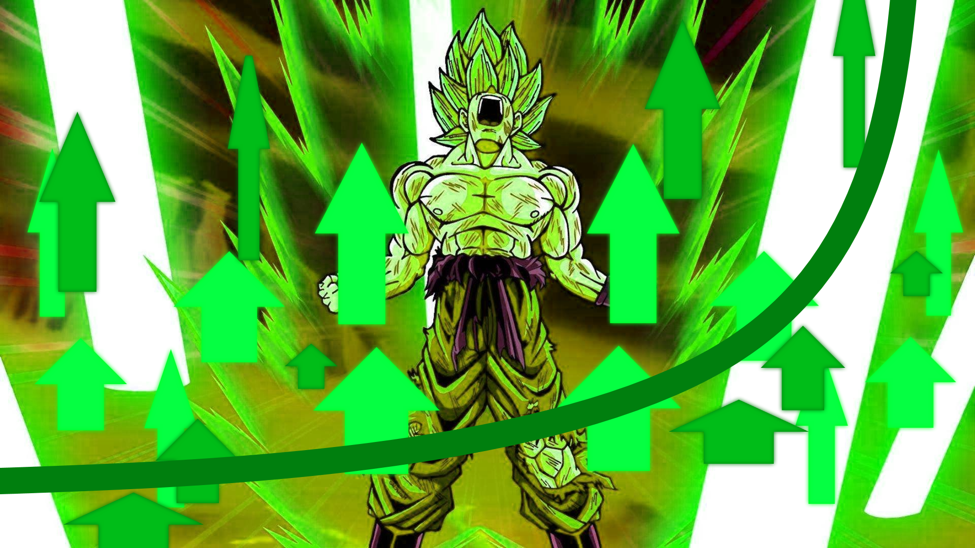 green arrow super sayan