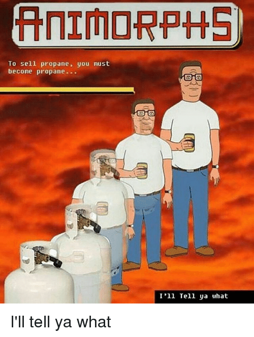 hank hill animorphs