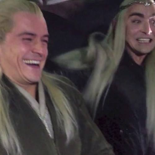 legolas laughing