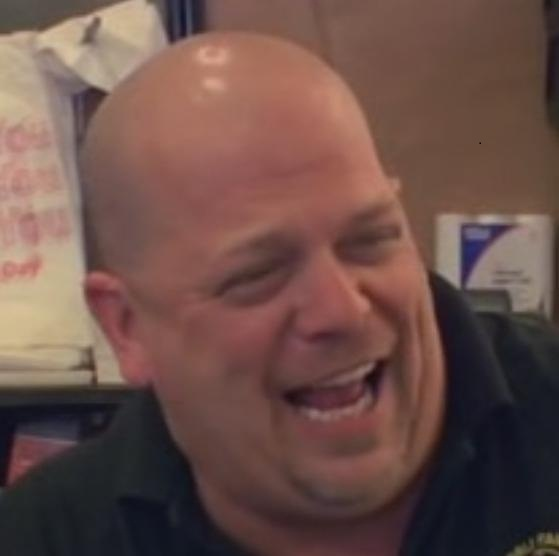 pawn stars rick laughing