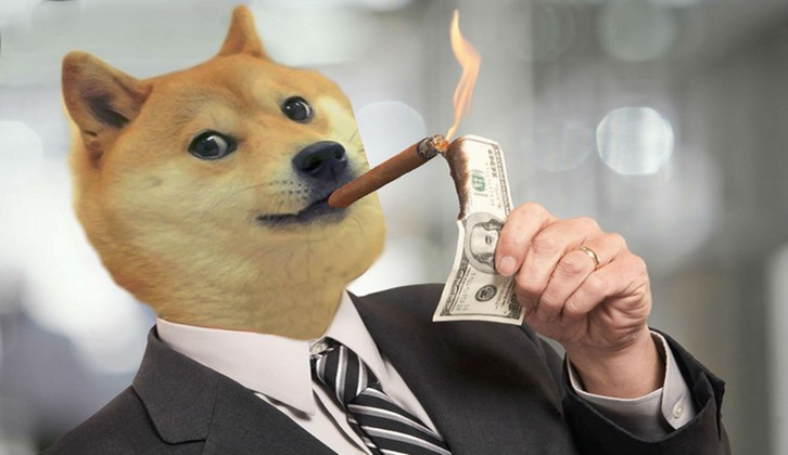 shibe businessman lighting bill