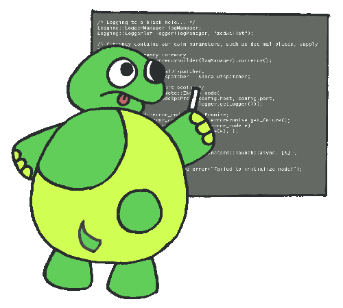 turtle writing code