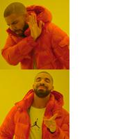 drake hotline bling meme template