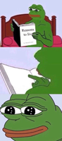 pepe sad reasons to live book meme template